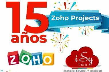 ¡Celebramos los 15 años de Zoho Projects!
